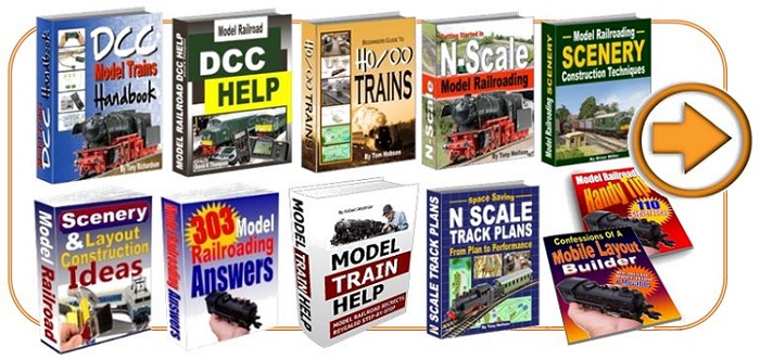 model railroad books