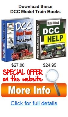 DCC model trains books