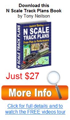 n scale track plan book